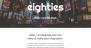 Eighties Download Free WordPress Theme