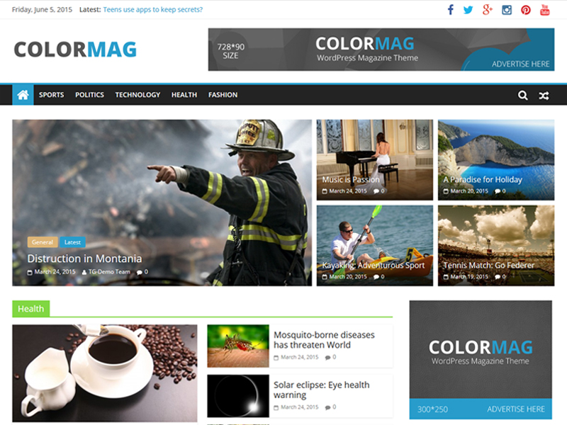 ColorMag Download Free WordPress Theme