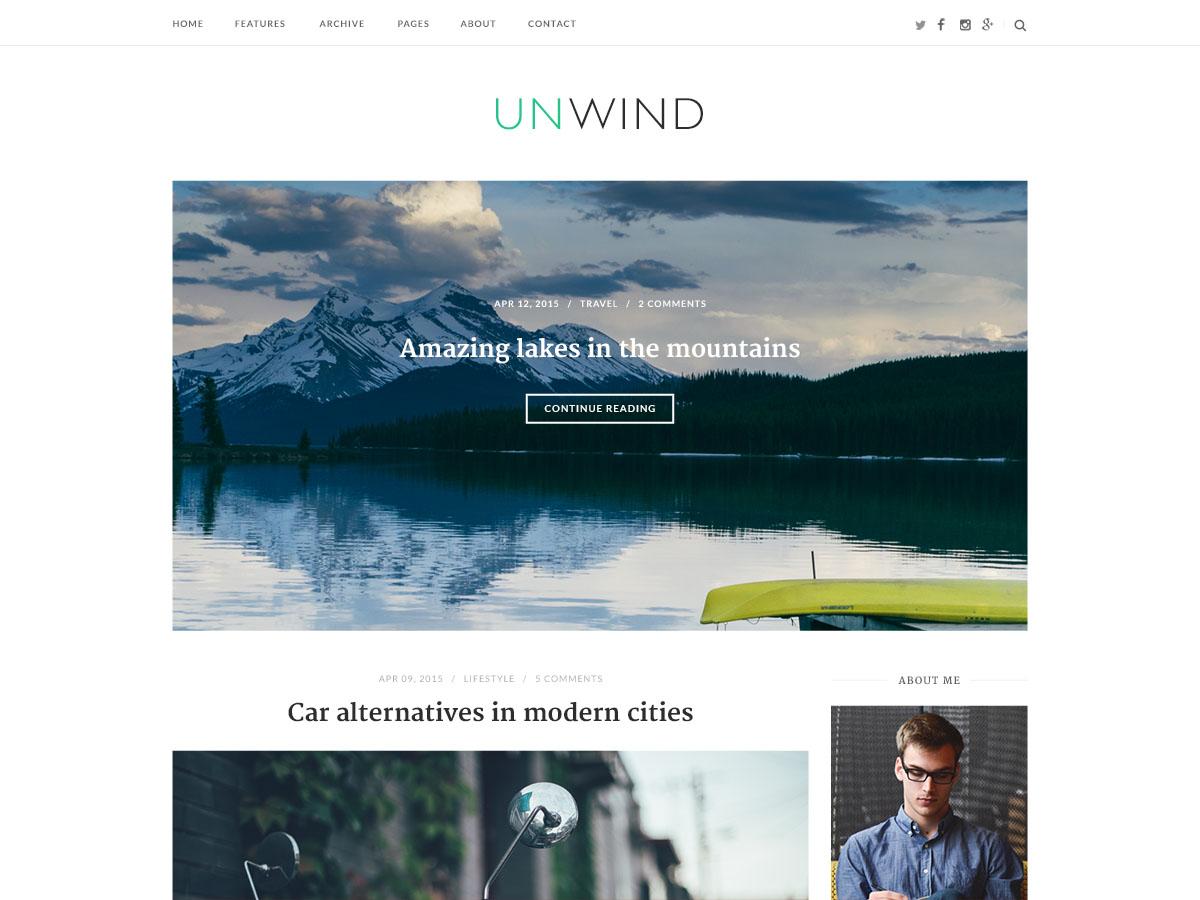SiteOrigin Unwind Download Free Wordpress Theme 3