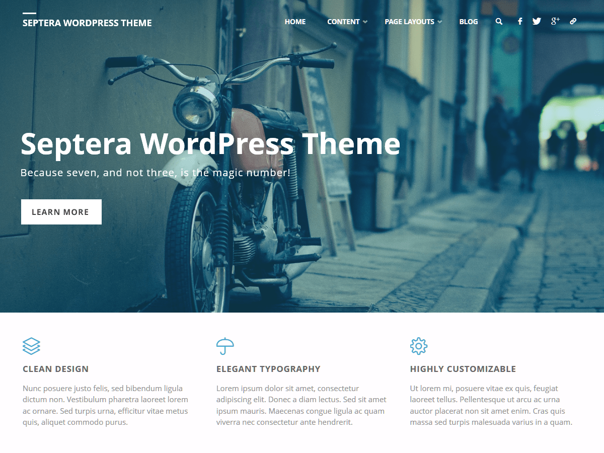 Septera Download Free Wordpress Theme 3