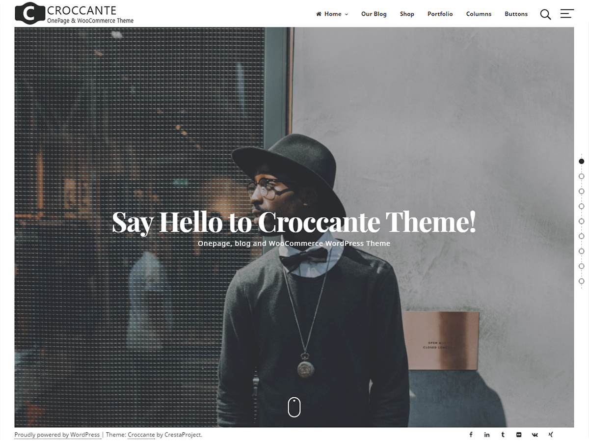 Croccante Download Free Wordpress Theme 5