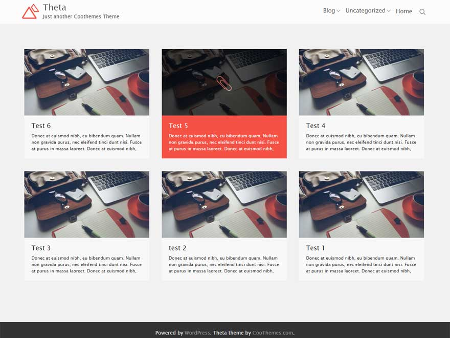 Theta Download Free Wordpress Theme 5