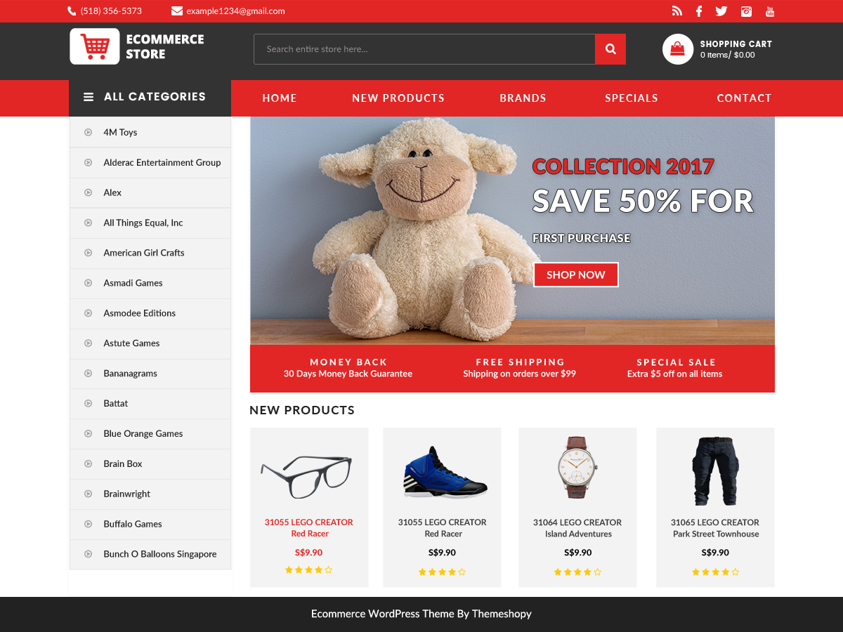 BB Ecommerce Store Download Free Wordpress Theme 2