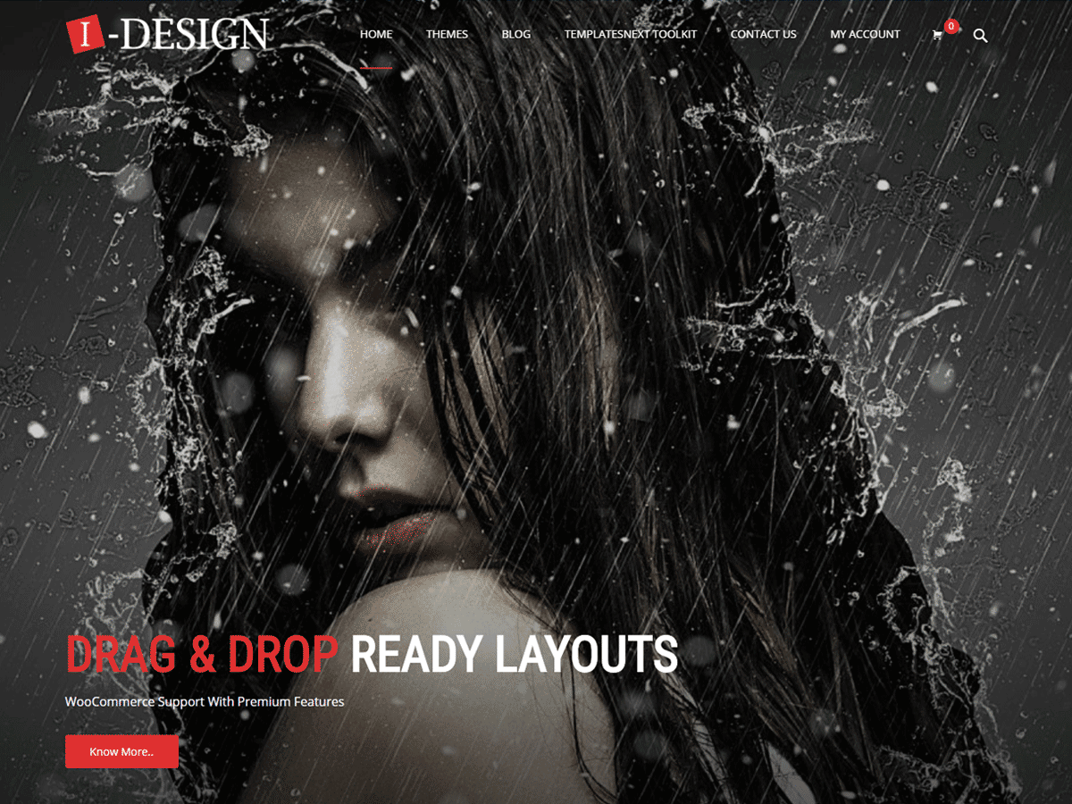 i-design Download Free Wordpress Theme 2