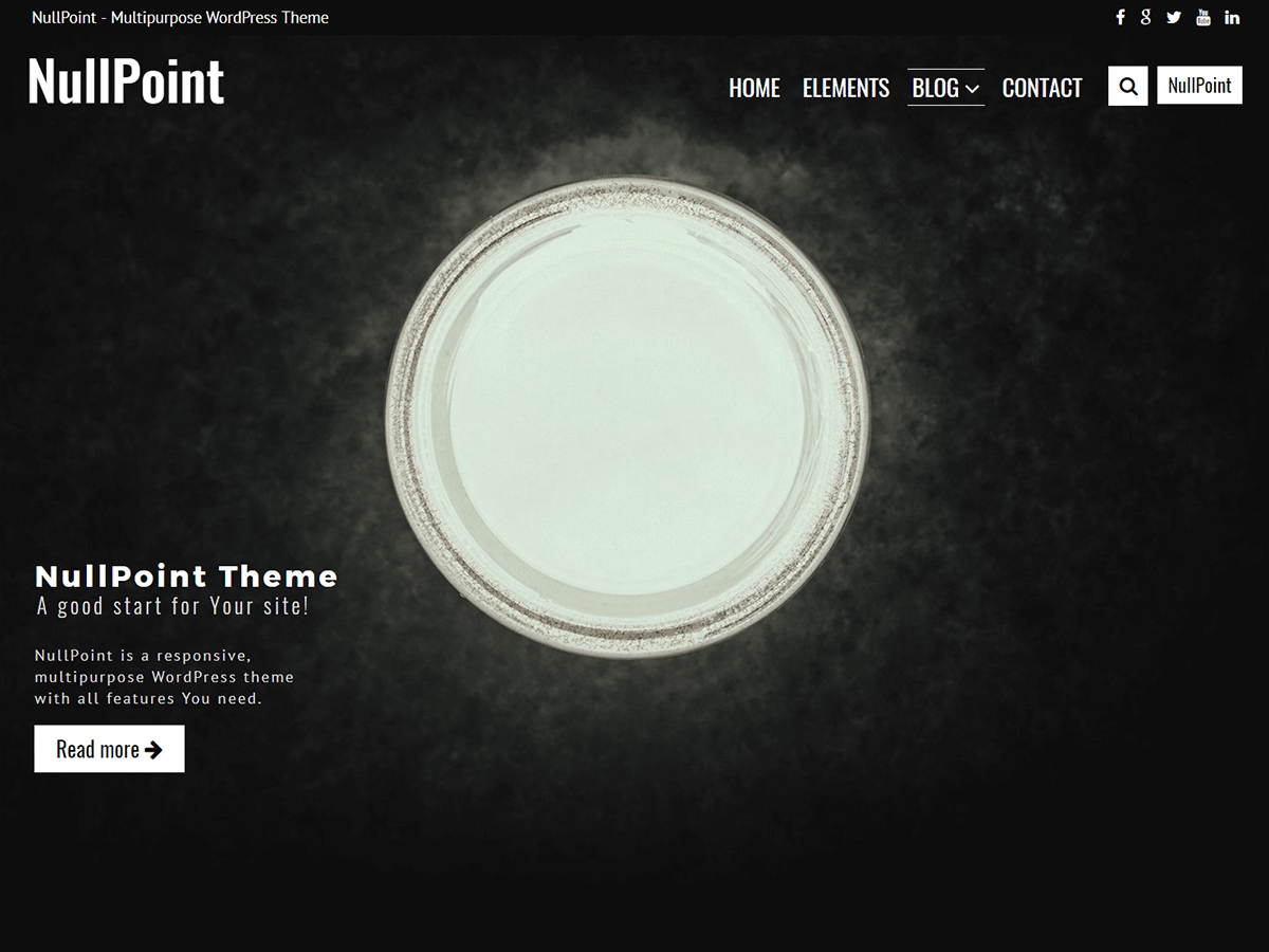 NullPoint Download Free Wordpress Theme 1