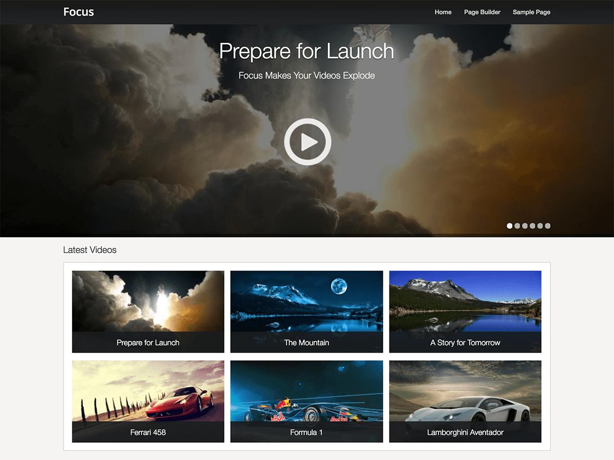 Focus Download Free Wordpress Theme 3