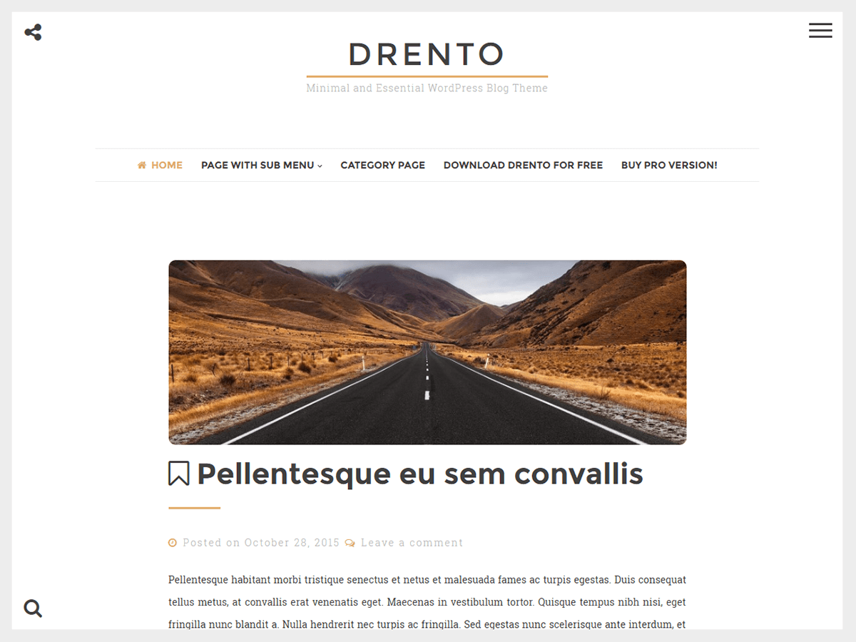 Drento Download Free Wordpress Theme 4