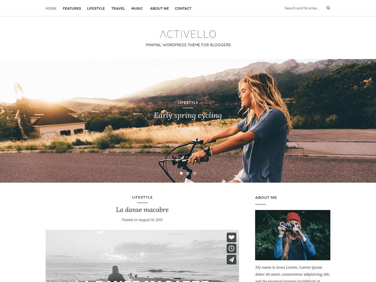 Activello Download Free Wordpress Theme 1