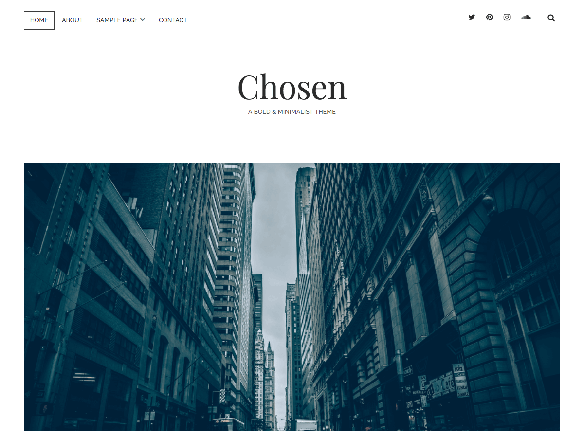 Chosen Download Free Wordpress Theme 1
