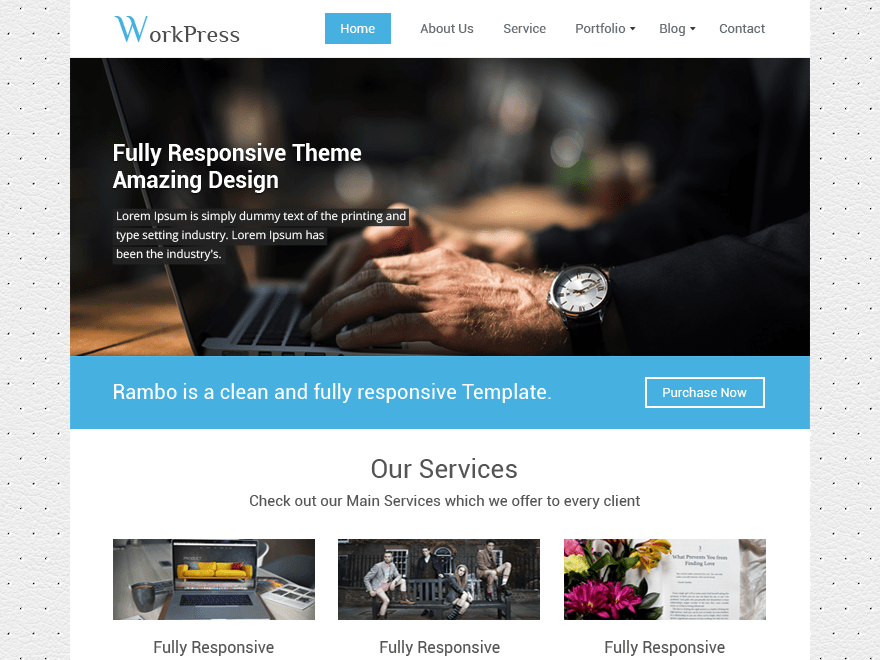 Workpress Download Free Wordpress Theme 1