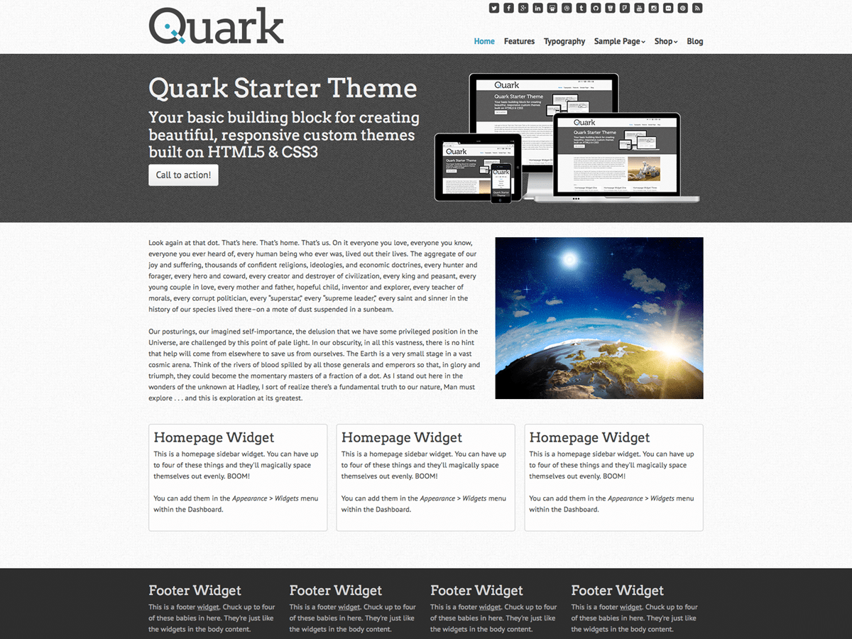 Quark Download Free Wordpress Theme 5