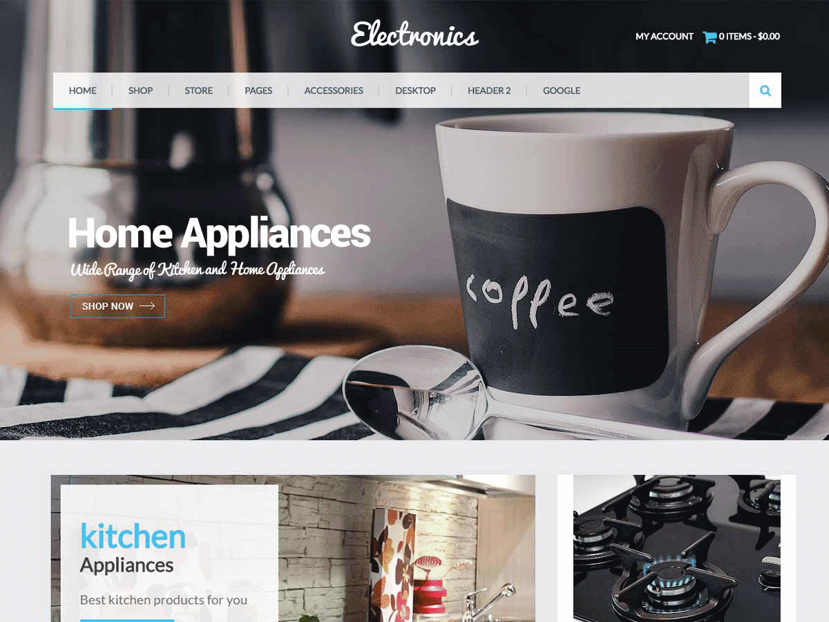 Eezy Store Download Free Wordpress Theme 3