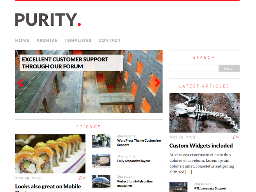 MH Purity lite Download Free Wordpress Theme 4