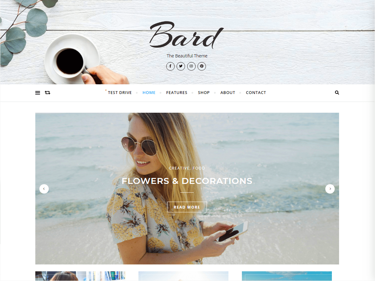 Bard Download Free Wordpress Theme 2