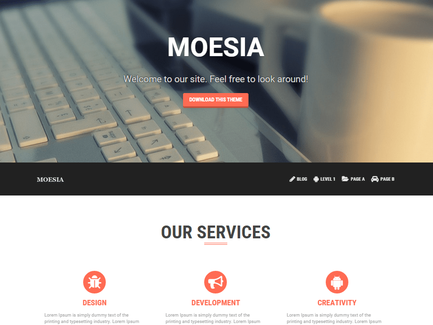 Moesia Download Free Wordpress Theme 1