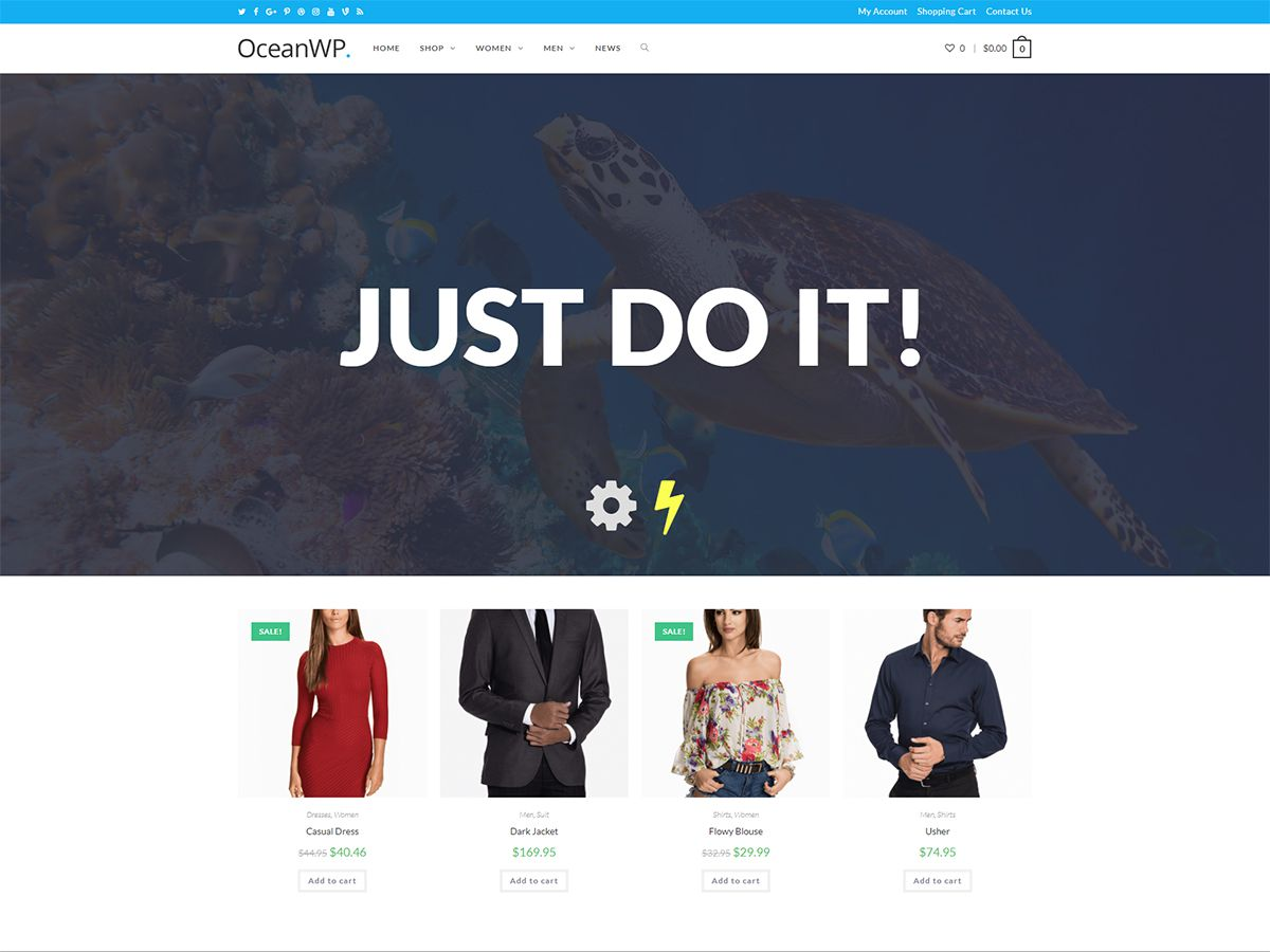 OceanWP Download Free Wordpress Theme 4