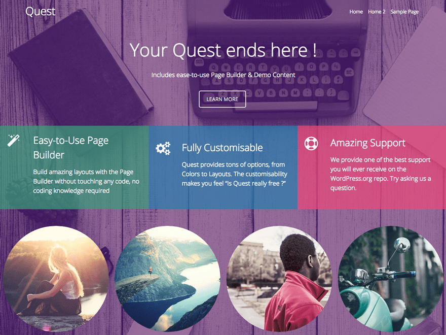 Quest Download Free Wordpress Theme 1