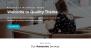 Quality blue Download Free WordPress Theme