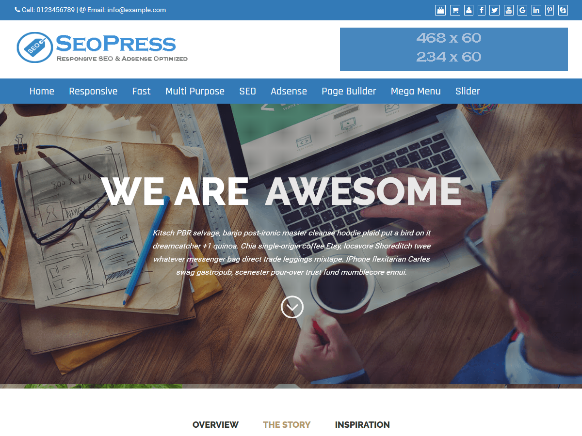 SEOPress Download Free Wordpress Theme 1