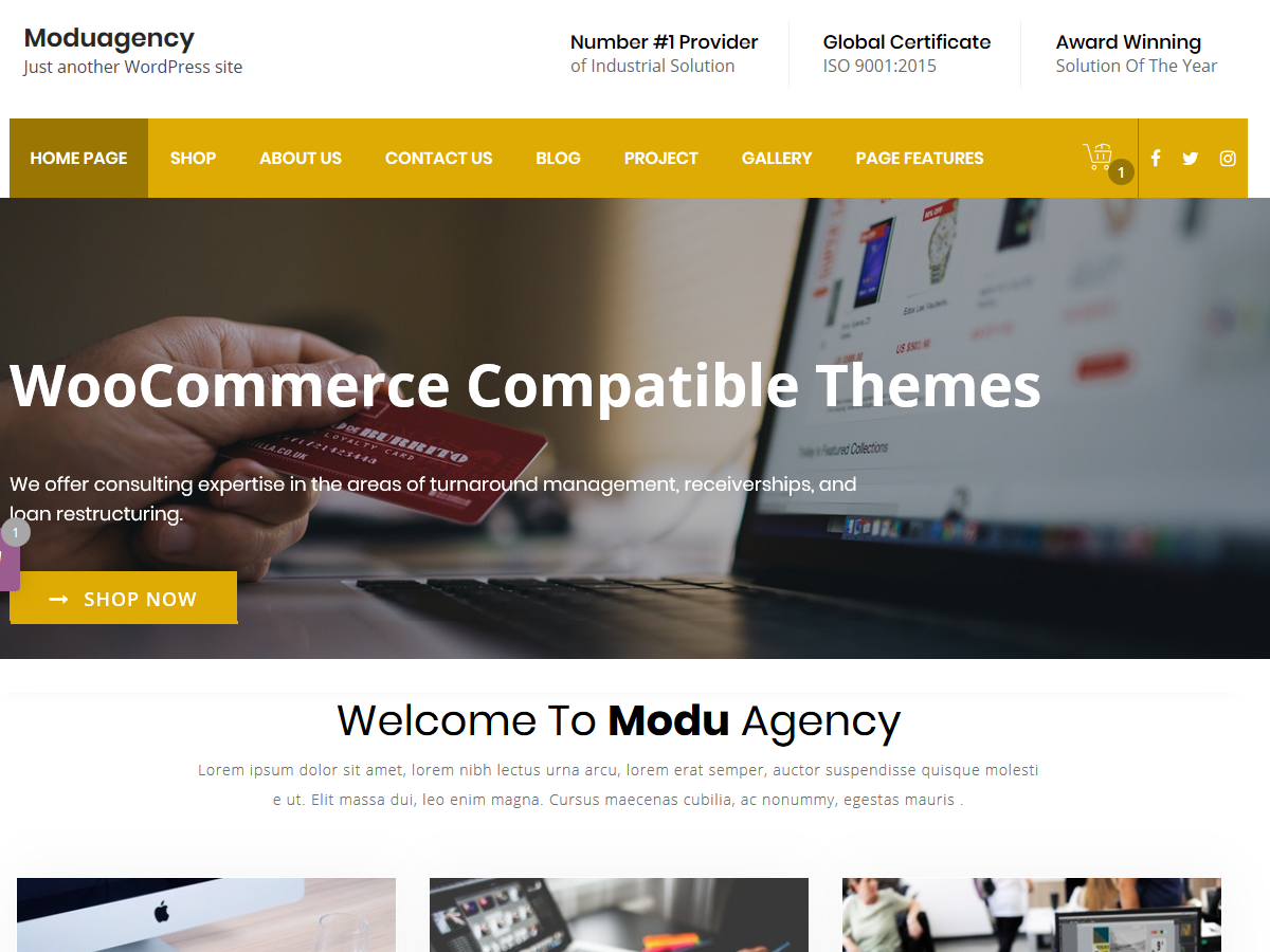 ModuAgency Download Free Wordpress Theme 1