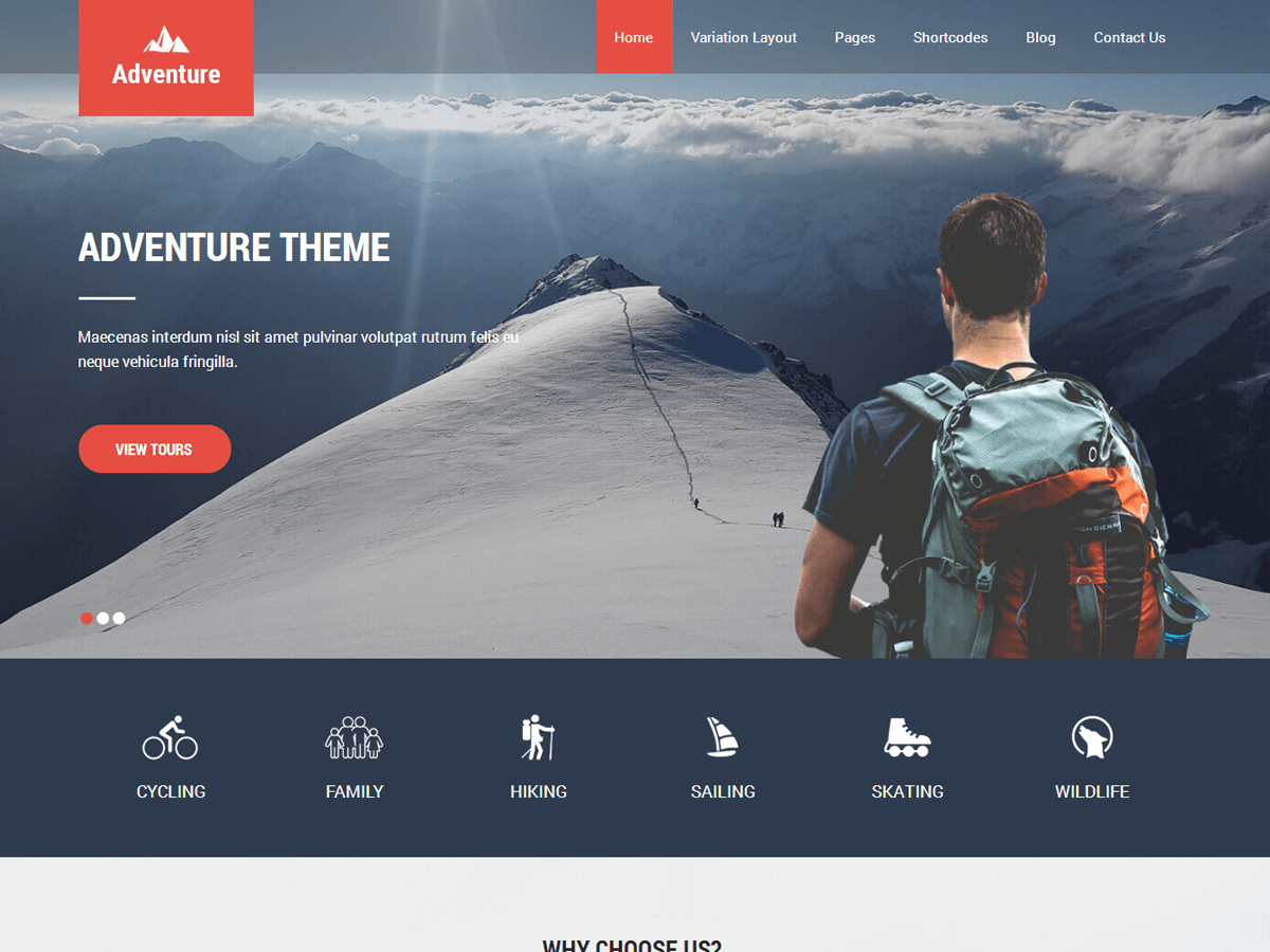 Adventure Lite Download Free Wordpress Theme 1