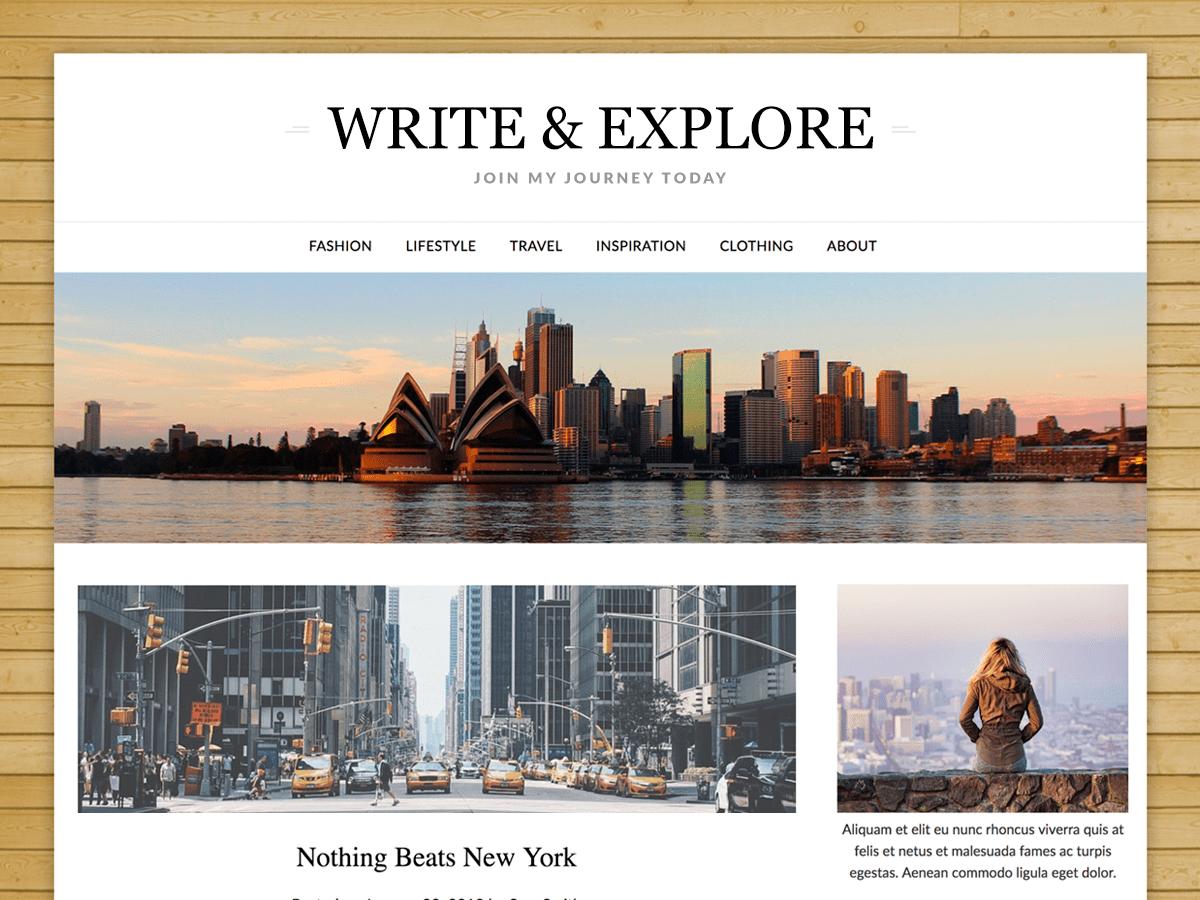 ResponsiveBlogily Download Free Wordpress Theme 1