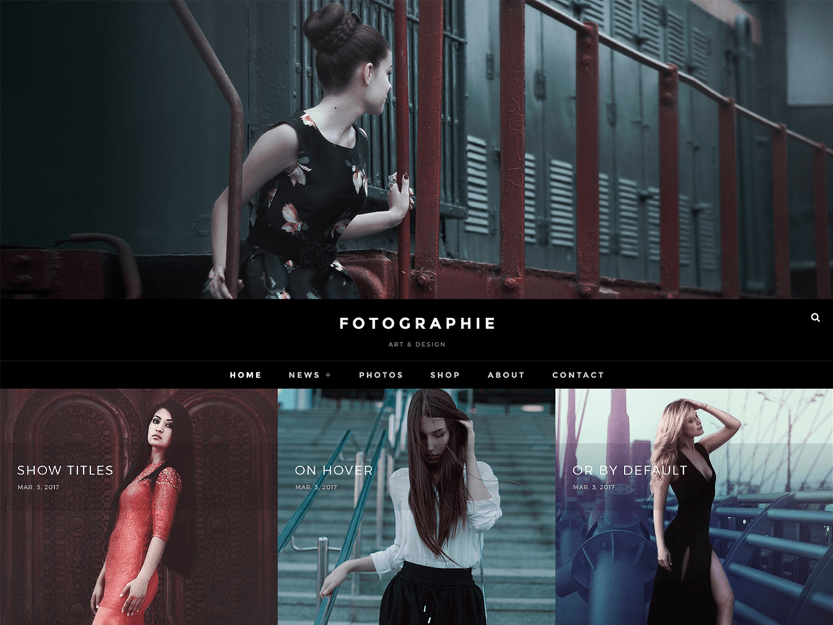 Fotografie Download Free Wordpress Theme 5