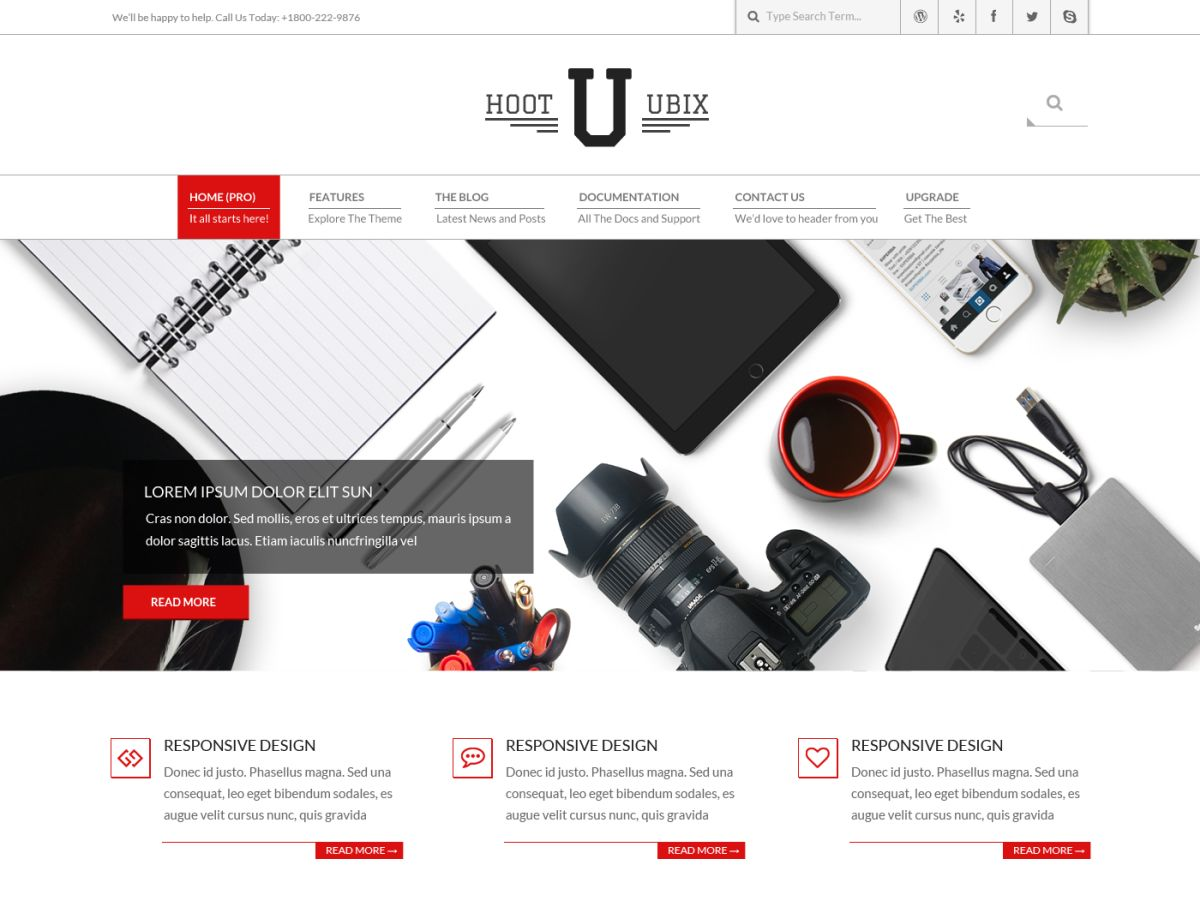 Hoot Ubix Download Free Wordpress Theme 5