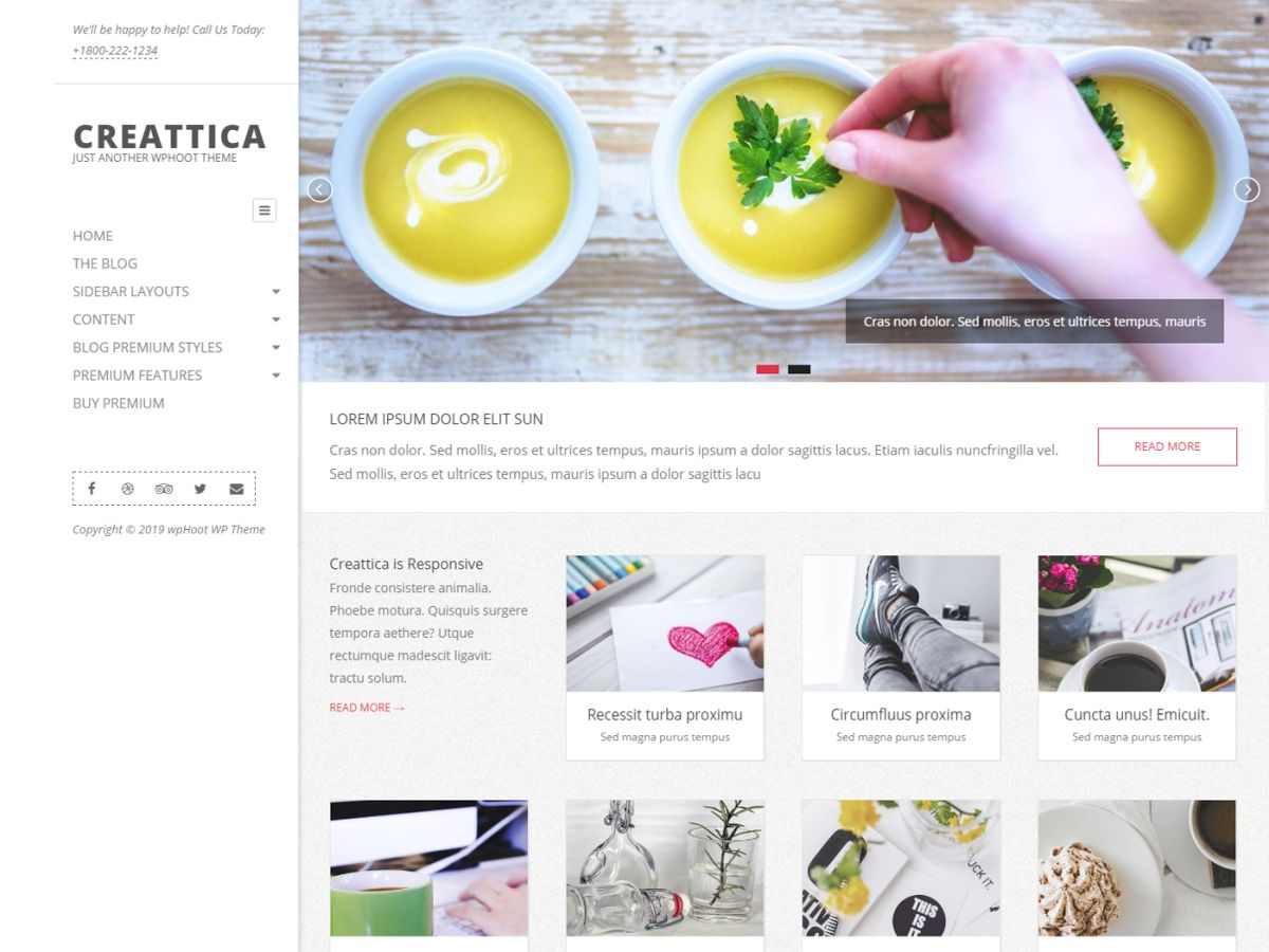 Creattica Download Free Wordpress Theme 3