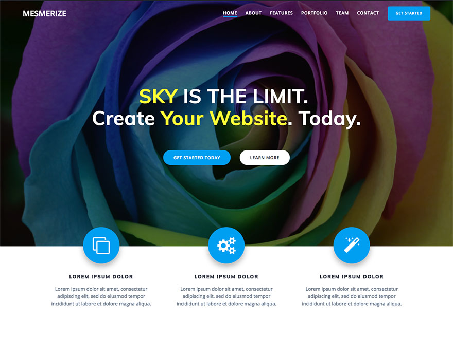 Mesmerize Download Free Wordpress Theme 3