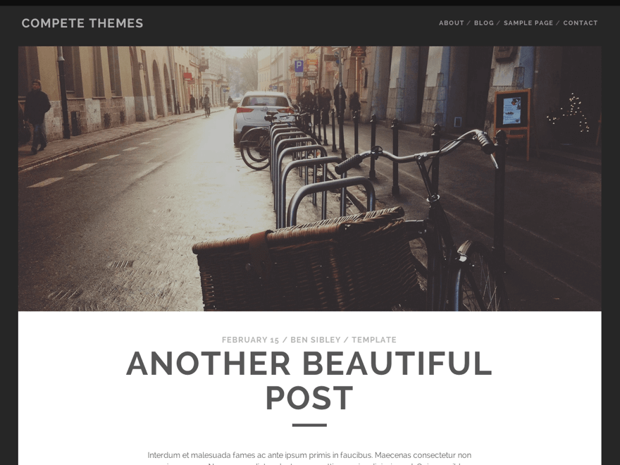 Tracks Download Free Wordpress Theme 1