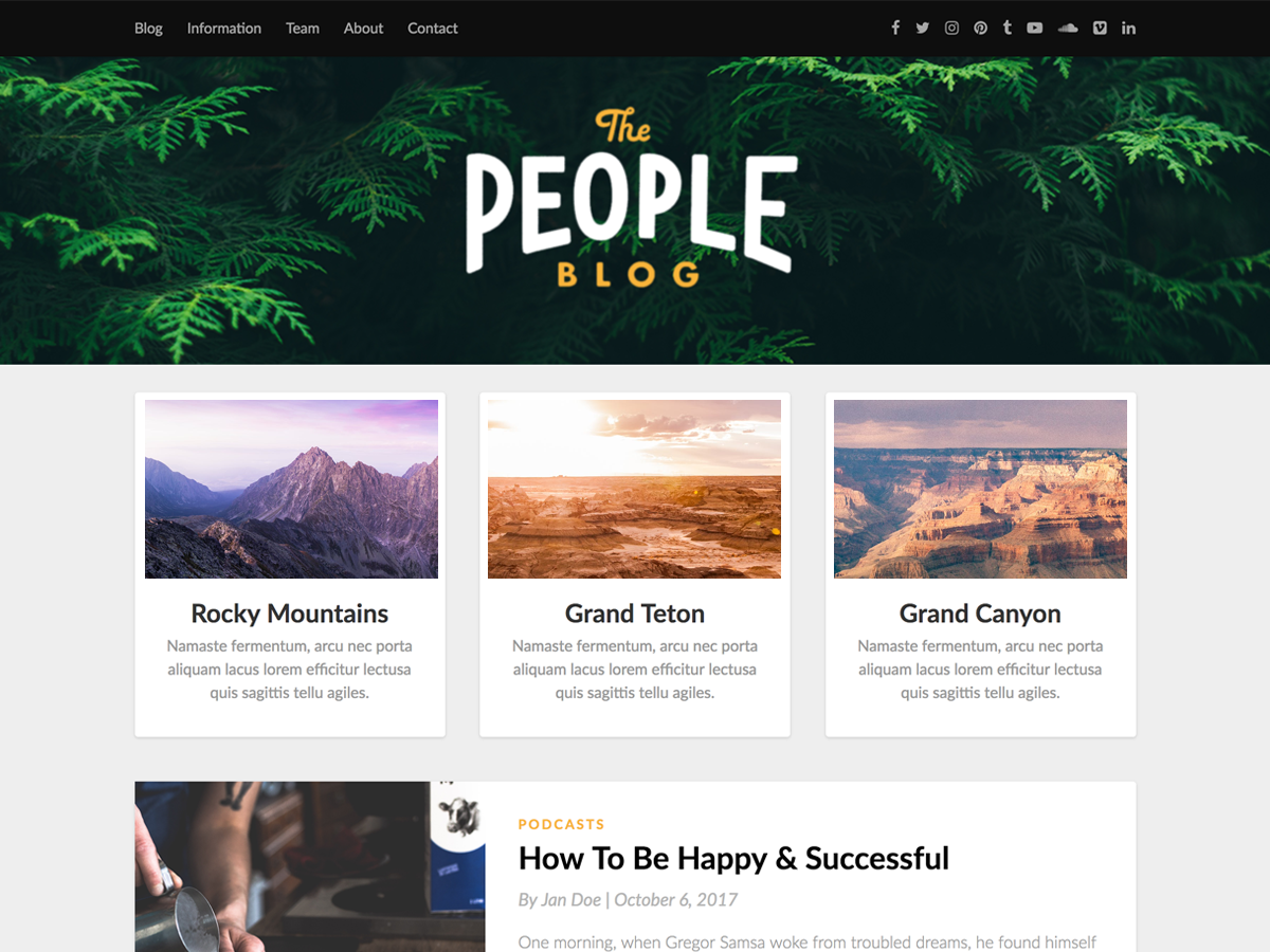 Responsiveblogic Download Free Wordpress Theme 2