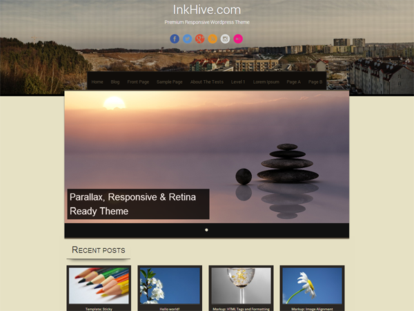 Sixteen Download Free Wordpress Theme 4