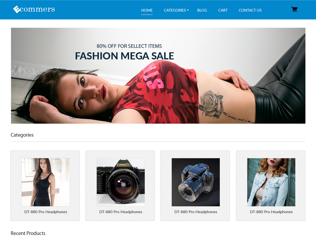 Pxt Ecommerce Download Free Wordpress Theme 3