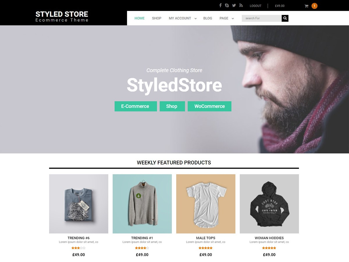 Styled Store Download Free Wordpress Theme 5