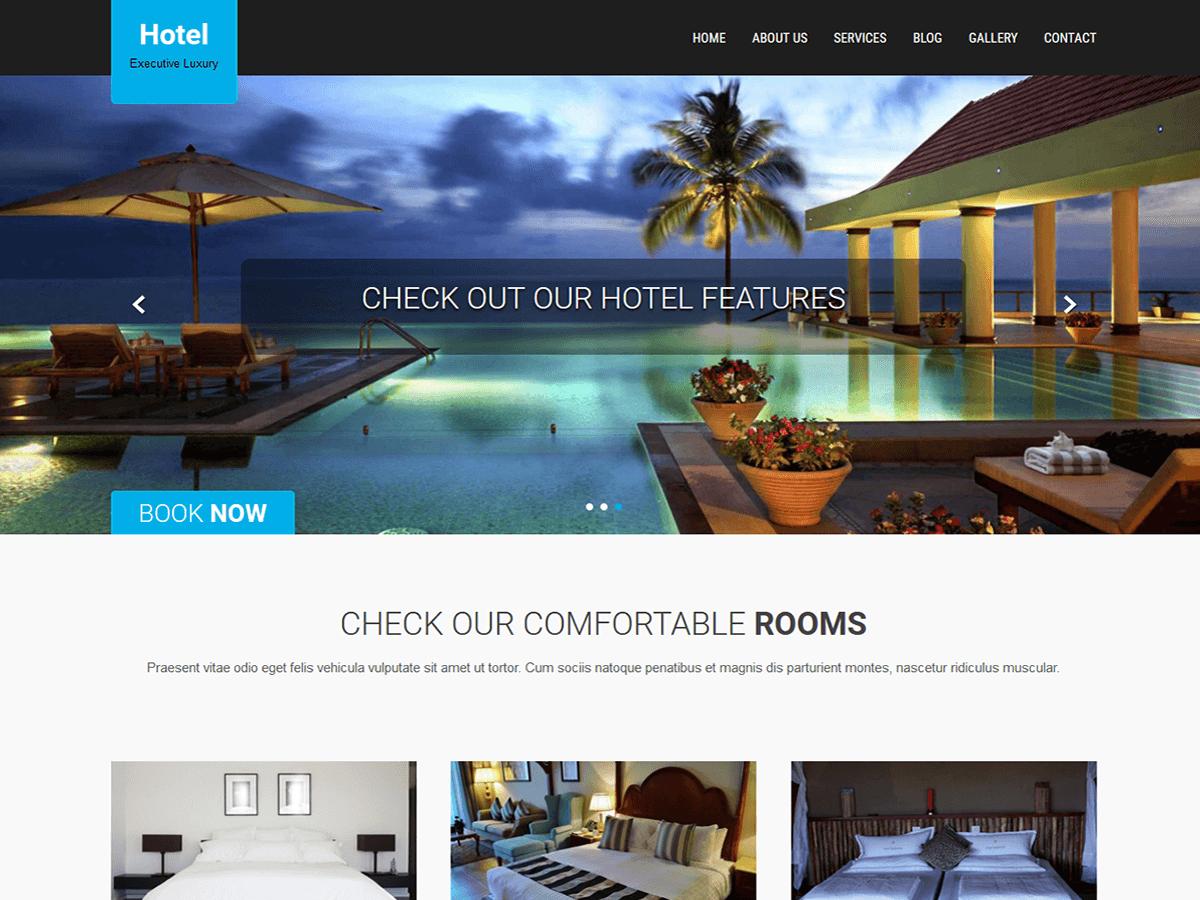 SKT Hotel Lite Download Free Wordpress Theme 4