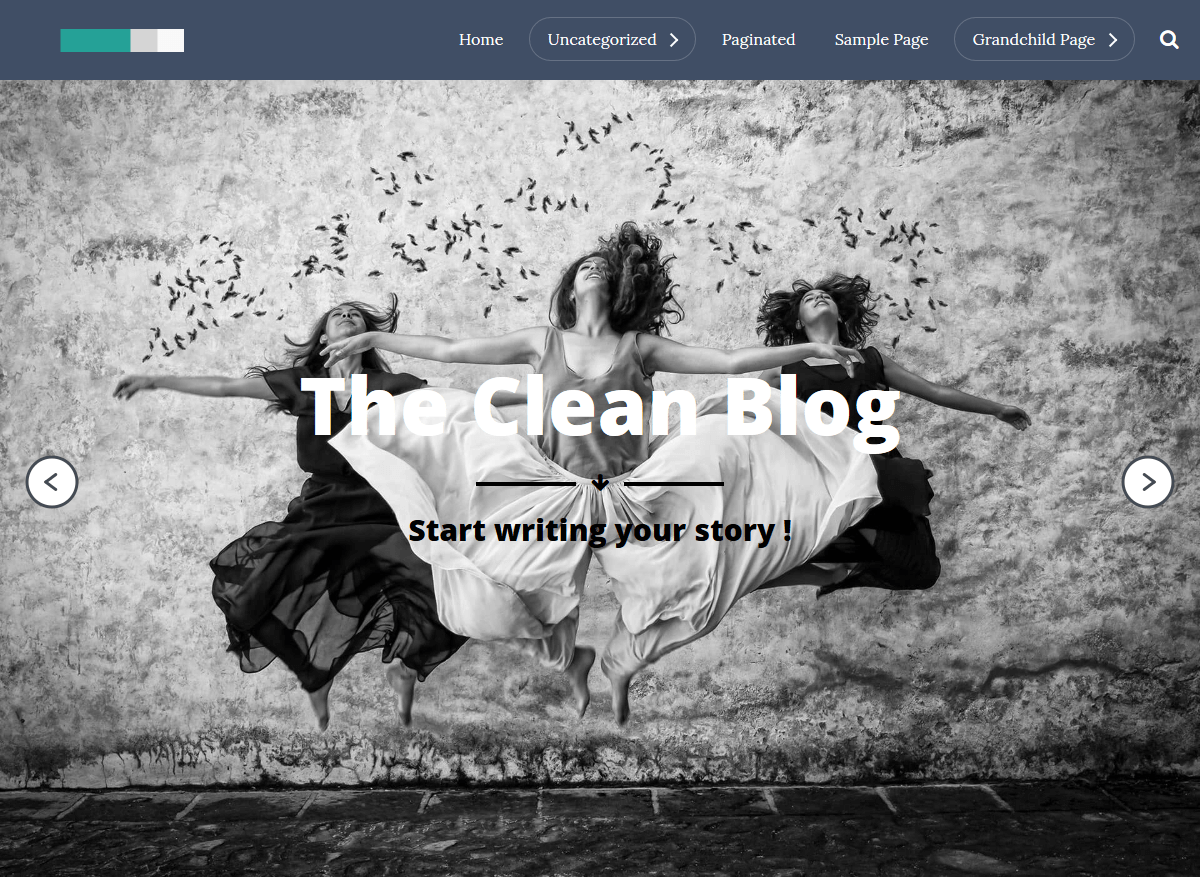The Clean Blog Download Free Wordpress Theme 3