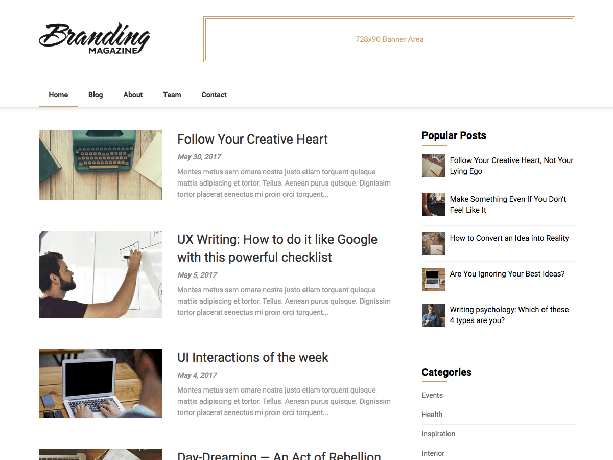 Feather Magazine Download Free Wordpress Theme 1