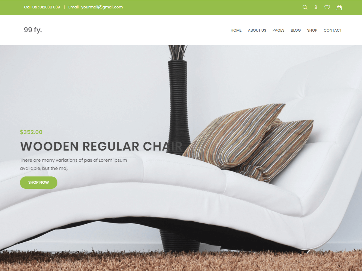 99fy Download Free Wordpress Theme 4