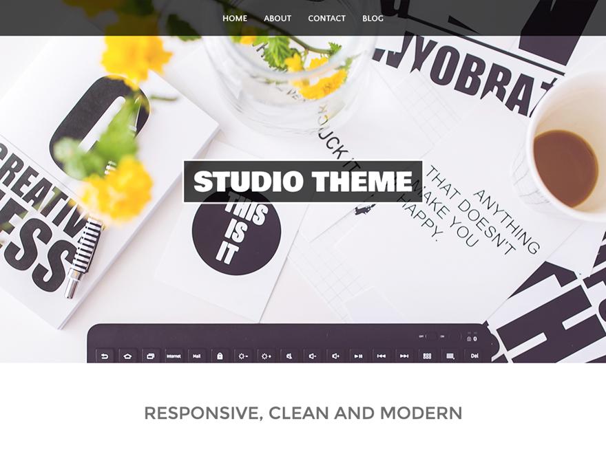 Studio Download Free Wordpress Theme 3