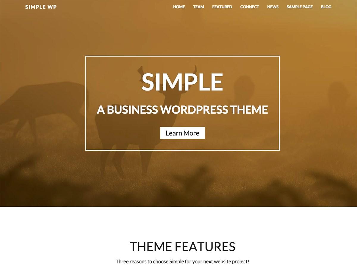WP Simple Download Free Wordpress Theme 3