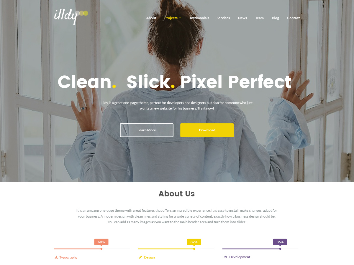 Illdy Download Free Wordpress Theme 3