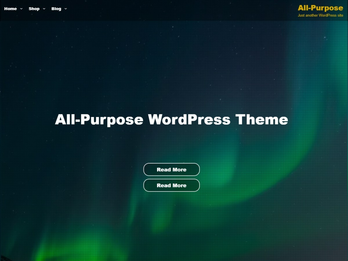 All Purpose Download Free Wordpress Theme 5