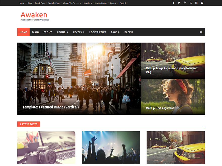 Awaken Download Free Wordpress Theme 4