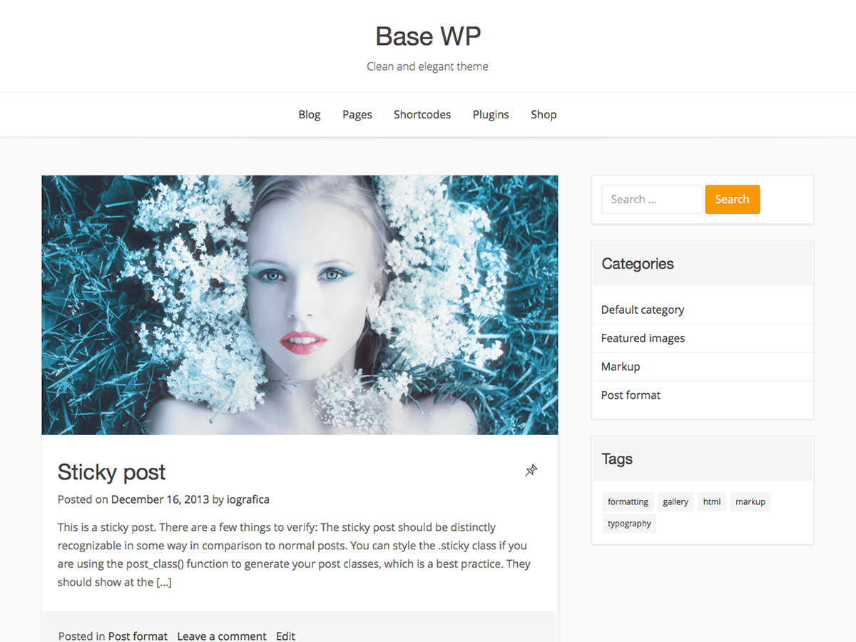 Base WP Download Free Wordpress Theme 2