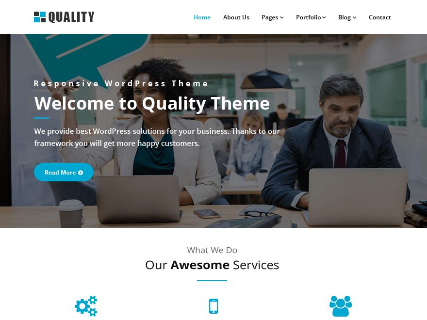 Quality Download Free Wordpress Theme 3