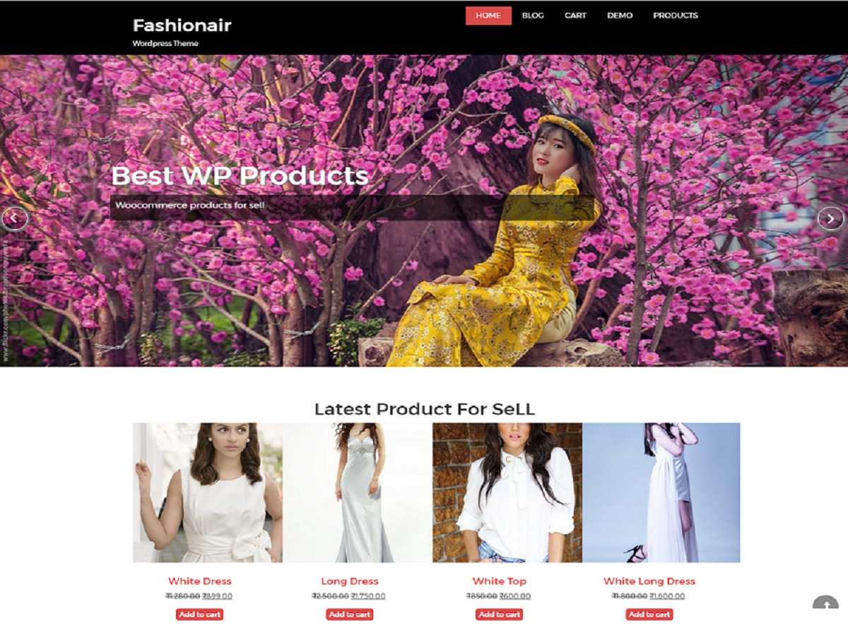 fashionair Download Free Wordpress Theme 2