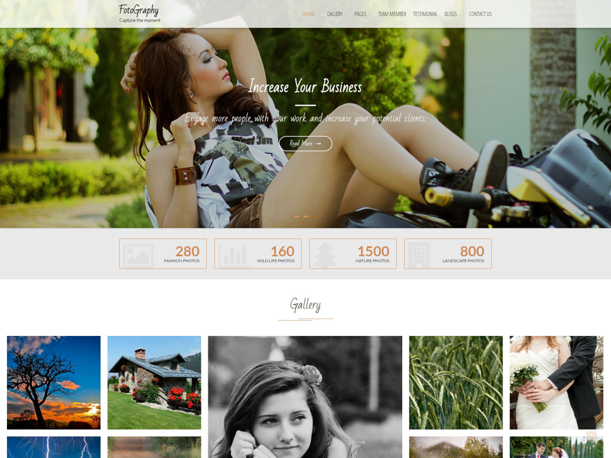 FotoGraphy Download Free Wordpress Theme 1