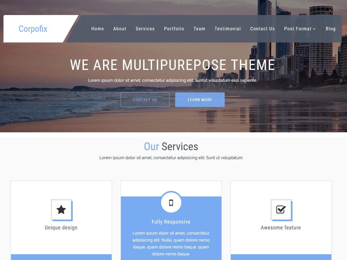CorporateSource Download Free Wordpress Theme 5