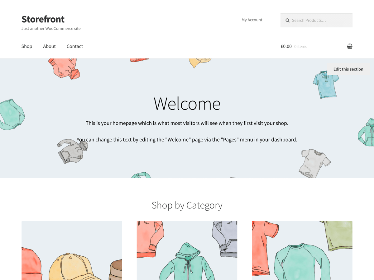 Storefront Download Free Wordpress Theme 4